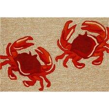 Frontporch Crabs Rug