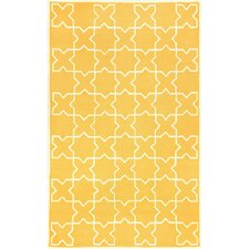 Capri Yellow Moroccan Tile Rug