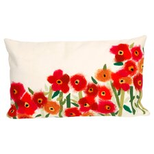<strong>Liora Manne</strong> Poppies Rectangle Indoor/Outdoor Pillow