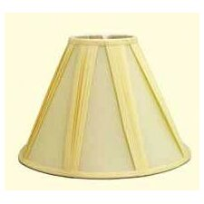 "16"" French Pleat Shantung Soft Empire Shade"
