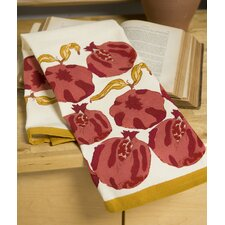 Pomegranate Yellow Tea Towel (Set of 3)