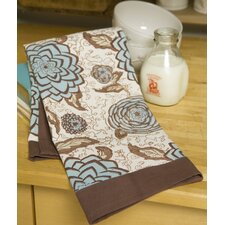 Dahlia Blue Tea Towel (Set of 3)