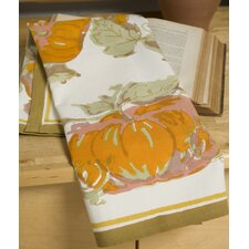 Pumpkin Orange Yellow Tea Towel (Set of 3)
