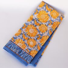 <strong>Couleur Nature</strong> Sunflower Yellow Blue Tea Towel (Set of 3)