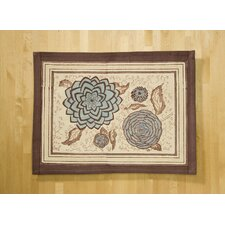 Dahlia Blue Placemat (Set of 6)