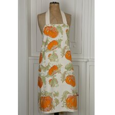 Pumpkin Orange Yellow Apron