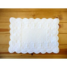 Sonia White Placemat (Set of 6)