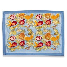 Tutti Frutti Blue Red Placemat (Set of 6)