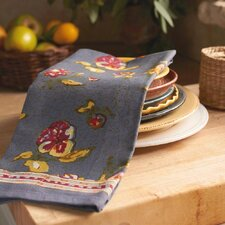 Pansy Red Grey Tea Towel (Set of 3)