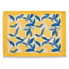 Lemon Tree Blue Yellow Placemat (Set of 6)