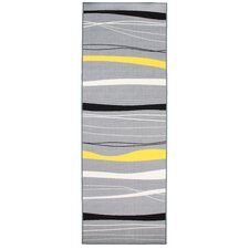 Sahara Yellow and Grey Rug