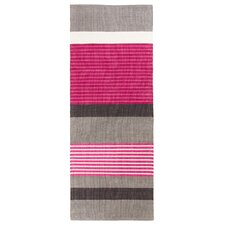 Pornainen Grey and Pink Woven Rug