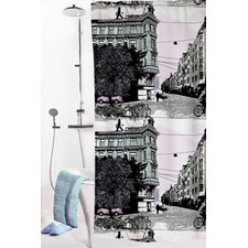 Bulevardi Polyester Shower Curtain