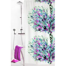 Aronia Polyester Shower Curtain