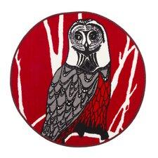 Hu-Huu Red Grey Rug