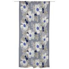 Rosanna Unlined Slot Top Single Panel Curtain