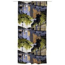 Aurajoki Unlined Slot Top Single Panel Curtain