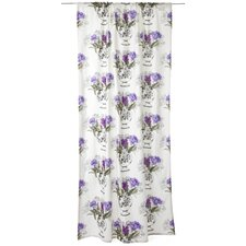 Jolie Cozy Unlined Slot Top Single Panel Curtain