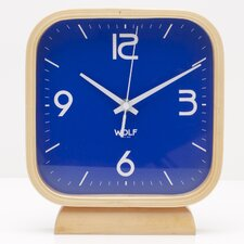 <strong>Wolf Designs</strong> Moderne Square Mantel Clocks