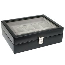 Heritage Watch Storage Boxes 10 Piece Watch Box