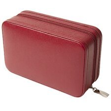 <strong>Wolf Designs</strong> Queen's Court Zip Jewelry Case