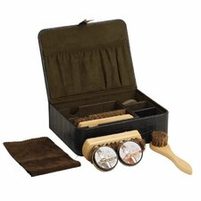 Aviator Men's Shoe Shine Kit
