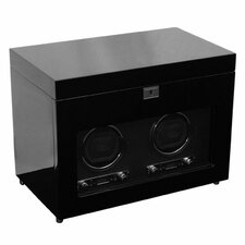 Savoy Double Winder Watch Box