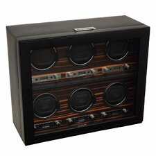 Roadster 6 Module Winder Watch Box