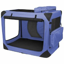 <strong>Pet Gear</strong> Home' n Go Generation II Deluxe Portable Soft Intermediate Pet Crate