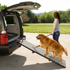 "<strong>Pet Gear</strong> Tri-Folding Portable 70"" Pet Ramp"