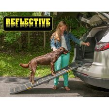 "Travel Lite Bi-Fold Reflective 66"" Pet Ramp"