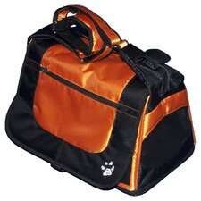 Messenger Bag Pet Carrier in Tangerine