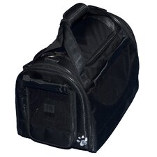 World Traveler Tote Bag Pet Carrier in Black Diamond