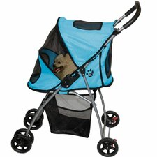 Ultra Light Pet Stroller in Ice Blue