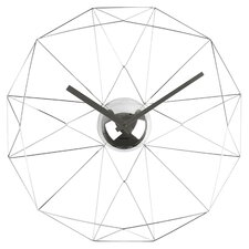 Diamond Web Wall Clock