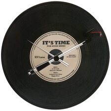 Spinning Record Wall Clock