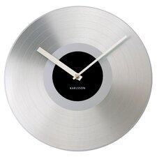 Platinum Record Wall Clock