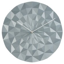 Facet Wall Clock