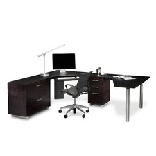 <strong>BDI</strong> Sequel Corner Desk Office L- Shaped Suite