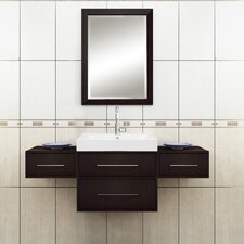 "Fresco 23.63"" H x 19.25"" W Bathroom Mirror"