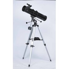 6x24 Reflector Telescope in Black