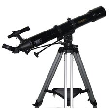 180x Refractor Telescope in Black