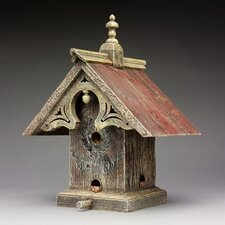 Queen Anne Hopper Bird Feeder