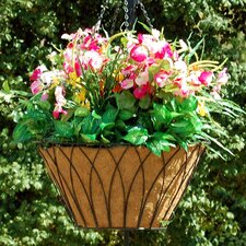 <strong>Griffith Creek Designs</strong> Nelumbo Round Hanging Planter