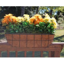 "Newport Over the Rail Planter for 2"" x 6"" Rail"