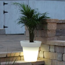 Bon Décor Round Illuminated Pot Planter