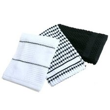 <strong>Bardwil Tablecloths</strong> Bardwil Popcorn Kitchen Towel Set