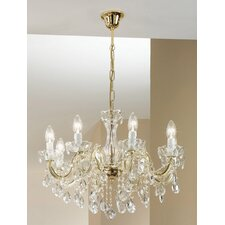 Valerie 8 Light Crystal Chandelier