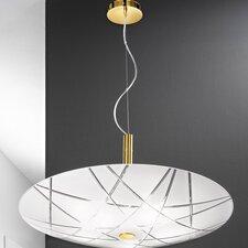 Mikado 5 Light Inverted Bowl Pendant