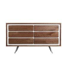 Ava 6 Drawers Combo Dresser